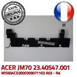MS2262 ACER JM70 7535 Left Set Speaker 7535G WIS604CD3000309071103 N4 MS2261 Parleurs Enceintes Hauts 23.40547.001 Right 7235