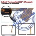 Samsung Galaxy SM-T533 Tab4 N 10.1 TAB4 Noire Supérieure Ecran LCD en Vitre PREMIUM Tactile Verre Prémonté Qualité Assemblée Adhésif