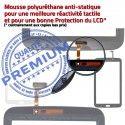 Samsung Galaxy TAB 3 GT-P3200 N TAB3 Qualité Tactile Vitre en Noire Adhésif LCD Verre 7 Prémonté Supérieure PREMIUM Ecran Assemblée