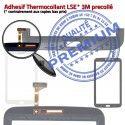 Samsung Galaxy TAB 3 SM-T211 N LCD en Vitre Prémonté T211 Supérieure SM Tactile TAB3 Assemblée 7 Adhésif Qualité Noire Verre PREMIUM Ecran