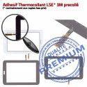 SM-T113 LITE Tab3 Blanc Galaxy Qualité en SM Tactile Blanche PREMIUM TAB3 Prémonté Samsung Assemblée Adhésif Vitre Ecran T113 Verre LCD Supérieure