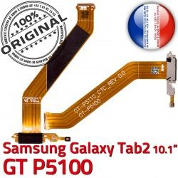 Samsung TAB Contacts Nappe Connecteur Dorés OFFICIELLE Réparation Galaxy MicroUSB 2 Charge Qualité ORIGINAL TAB2 Chargeur de Ch GT-P5100