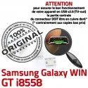 Samsung Galaxy Win GT-i8558 USB Dorés Pins à SLOT Connector Fiche Chargeur souder Dock MicroUSB ORIGINAL Prise Qualité charge de
