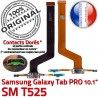 Samsung Galaxy TAB PRO SM-T525 C de Chargeur Doré Qualité OFFICIELLE ORIGINAL SM Connecteur Nappe Contact T525 Charge Réparation MicroUSB