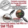 Samsung Galaxy TAB PRO SM-T525 C SM ORIGINAL Nappe Chargeur de MicroUSB Charge Doré Réparation Connecteur Contact T525 OFFICIELLE Qualité
