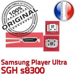 souder Dorés Prise USB Flex C Connecteur SGH Chargeur de Samsung à Dock s8300 Ultra Player Connector charge Pins ORIGINAL Micro