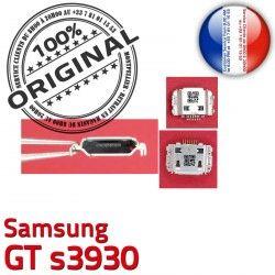 GT Flex C ORIGINAL à charge Prise Connecteur USB souder Portable s3930 Pins de Chargeur Dock Connector Samsung Dorés Micro