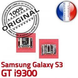 Connecteur USB Chargeur S3 Flex Prise Galaxy à Pins ORIGINAL charge i9300 GT Micro Dorés de souder Samsung C Connector Dock