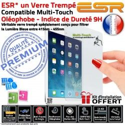 Vitre Chocs Filtre Bleue Multi-Touch Trempé A1432 Oléophobe Verre Protection Ecran Mini ESR iPad Anti-Rayures Lumière UV Apple
