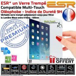 Film Trempé 9H A1459 Bleue Verre Apple Vitre Ecran Chocs Filtre iPad Protecteur ESR Incassable Anti-Rayures Lumière Protection 4