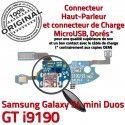 Samsung S4 Min GTi9190 C Galaxy Connecteur Qualité MicroUSB GT Chargeur Antenne ORIGINAL Microphone 9190 RESEAU Prise Charge OFFICIELLE Nappe