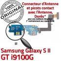 Samsung Galaxy S2 GT i9100G C OFFICIELLE Nappe Qualité Antenne Connecteur RESEAU ORIGINAL Chargeur Charge Prise Microphone MicroUSB