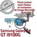 Samsung Galaxy S2 GT i9100G C Qualité Antenne Nappe OFFICIELLE Chargeur Microphone Connecteur Charge ORIGINAL RESEAU Prise MicroUSB