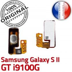 S Marche Bouton Switch Arrêt Circuit S2 souder 2 Galaxy Connector à Samsung Pin GT SLOT OR Contacts Dorés i9100G Nappe Connecteur ORIGINAL P
