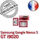 Samsung Google Nexus GT i9020 C charge Prise souder Chargeur à S Pins Connecteur Flex ORIGINAL Micro Connector Dorés USB Dock de