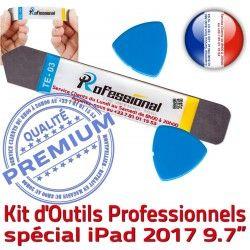 KIT Vitre Tactile Ecran Réparation iSesamo Professionnelle iPad Outils A1823 iLAME PRO Remplacement A1822 Démontage 2017 Qualité Compatible