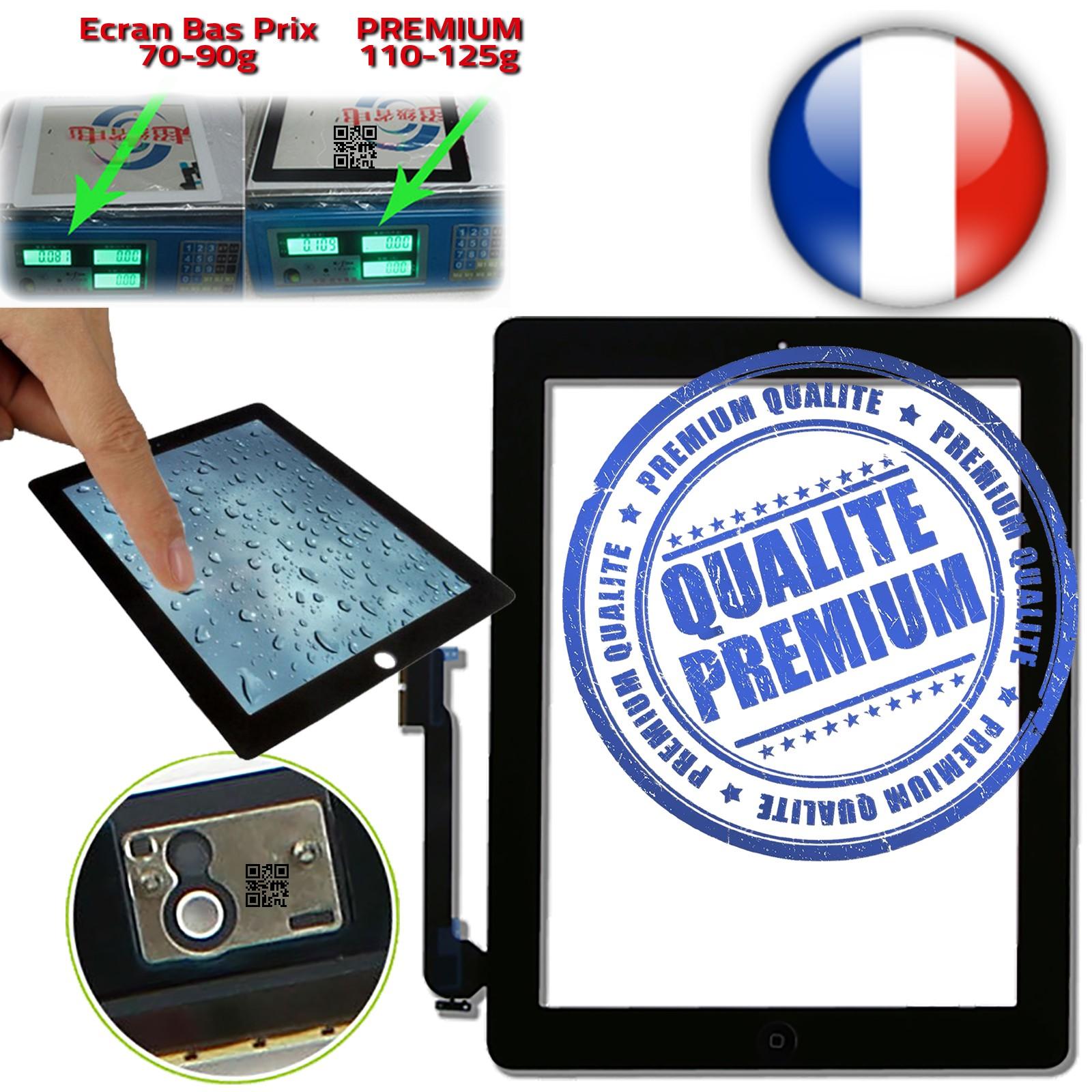 Vitres en Verre PREMIUM Apple iPad 3 Troisième Génération